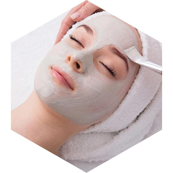 Intensivbehandlung Kosmetikstudio hautnah